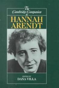 The Cambridge companion to Hannah Arendt - Dana Richard Villa (ISBN 9780521645713)