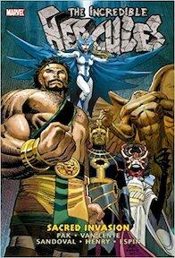 The Incredicle Hercules Vol. 2:Sacred Invasion - Fred van Lente (ISBN 9780785142560)