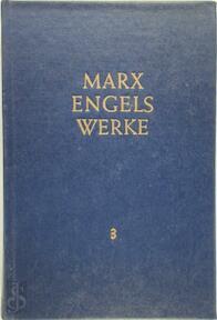 Marx-Engels-Werke Band 3 - Karl Marx, Friedrich Engels
