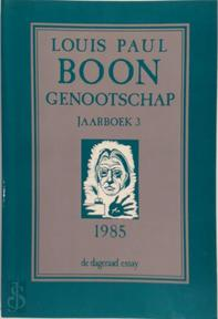 Louis Paul Boon Genootschap - Louis Paul Boon, Willem M. Roggeman (ISBN 9789063711559)