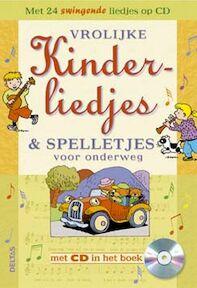 Vrolijke kinderliedjes en spelletjes voor onderweg + CD (ISBN 9789044701852)