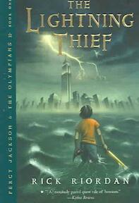 The lightning thief - Rick Riordan (ISBN 9780786838653)