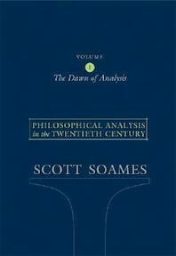 Philosophical Analysis in the Twentieth Century - Scott Soames (ISBN 9780691122441)