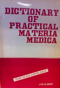 A dictionary of practical materia medica 1, 2 & 3 - John Henry Clarke (ISBN 9788170210191)