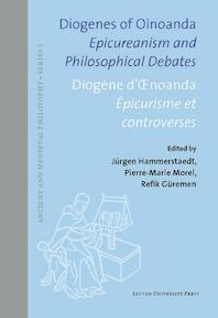 Diogenes of Oinoanda · Diogène d'Œnoanda (ISBN 9789462701014)