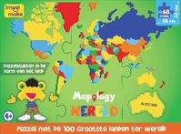 Mapology Wereld puzzel (ISBN 8906057362820)