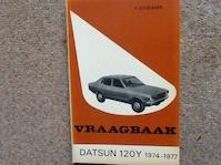 Vraagbaak Datsun 120Y (ISBN 902019847)