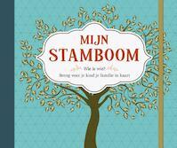 Mijn stamboom (ISBN 9789044749267)