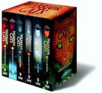 Cadeaubox warrior cats - 6 delen van serie 1 - Erin Hunter (ISBN 9789059244412)