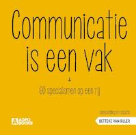 Communicatie is een vak - Betteke Van Ruler (ISBN 9789492196118)