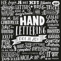 Handlettering doe je zo ! - Karin Luttenberg (ISBN 9789048834228)