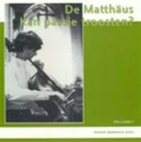 De Matthaus - Hendrik Opdebeeck (ISBN 9789080699380)