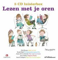 Lezen met je oren - 5 CD luisterbox - Dick Bruna, Roald Dahl, Annie M.G. Schmidt, Jean Dulieu, Astrid Lindgren (ISBN 9789047603900)