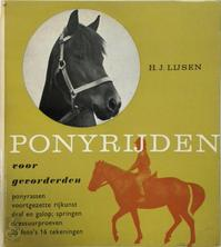 Ponyrijden voor gevorderden - H.J. Lijsen