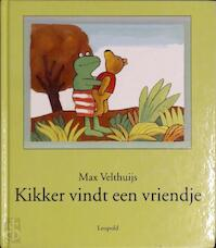 Kikker vindt een vriendje - Max Velthuijs (ISBN 9789025830687)