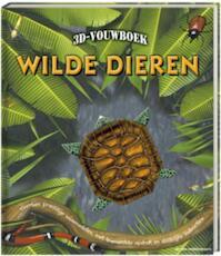 3D Vouwboek wilde dieren - Nick Robinson (ISBN 9789051160734)