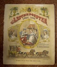 Asschepoester in het Cirque Carré. Met de vertelling en Dichtregelen van J. Schenkman. - Jan Schenkman