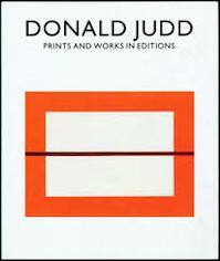 Donald Judd. Prints and Works in Editions - Mariette Josephus Jitta (ISBN 3888147107)