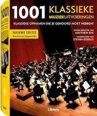 1001 klassiekemuziekuitvoeringen - Matthew Rye (ISBN 9789089983817)