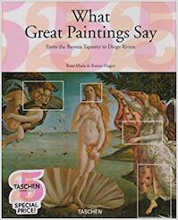 What Great Paintings Say - Rose-Marie Hagen, Rainer Hagen (ISBN 9783822847909)