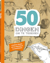 50 Dingen om te tekenen (ISBN 9789089989635)