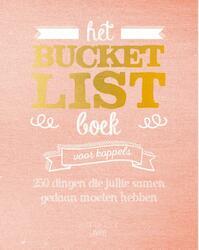 Het Bucketlist boek voor koppels - Elise De Rijck (ISBN 9789401440776)