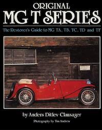 Original MG T Series - Anders Clausager (ISBN 9781906133344)