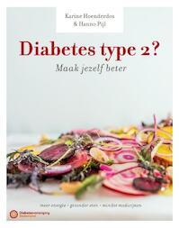 Diabetes type 2? Maak jezelf beter! - Hanno Pijl, Karine Hoenderdos (ISBN 9789059566651)