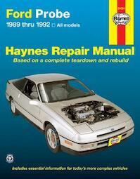 Ford Probe, 1989-1992 - Mike Stubblefield, John Harold Haynes (ISBN 9781563920899)