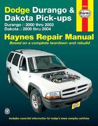 Dodge Durango & Dakota Pick-ups Automotive Repair Manual - (ISBN 9781563926778)