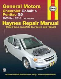 General Motors Chevrolet Cobalt & Pontiac Automotive repair Manual - Jay Storer, John Harold Haynes (ISBN 9781563929748)