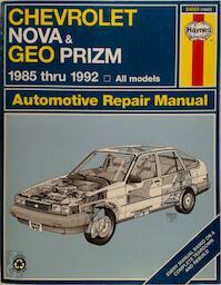 Chevrolet Nova & Geo Prizm Automotive Repair Manual - Jon Lacourse, John Harold Haynes (ISBN 9781850106425)