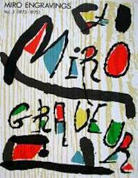 Miró Engravings Vol. 3 [1973-1975] - Jacques. Dupin (ISBN 9788434306653)