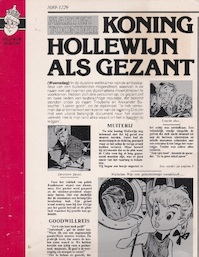 Koning Hollewijn als gezant - Marten Toonder (ISBN 9789065550361)