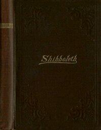Shibboleth A Templar Monitor - George Cooper Conner