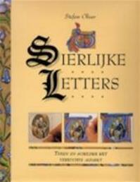 Sierlijke letters - Stefan Oliver, Aat van Uijen, Textcase (ISBN 9789057640209)