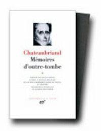 Mémoires d'outre-tombe - François-René Vicomte de Chateaubriand (ISBN 9782070101283)
