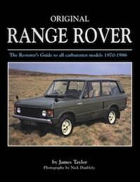 Original Range Rover - James Taylor (ISBN 9781906133559)