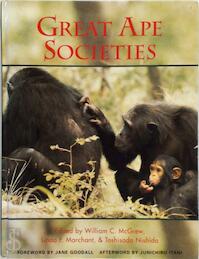 Great Ape Societies - William C. McGrew, William Clement McGrew, Linda F. Marchant, 利貞·西田 (ISBN 9780521554947)