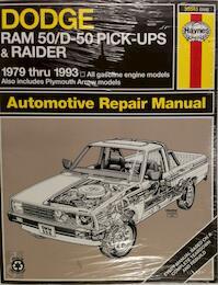 Dodge Ram 50/D-50 Pickups and Raider, 1979-1993 - John Haynes (ISBN 9781563920851)