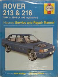 Rover 213 and 216 (Haynes Service and Repair Manual Series) (ISBN 1859602320)