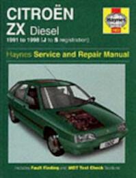 Citroen ZX Diesel Service and Repair Manual - Mark Coombs, Steve Rendle, Christopher Rogers (ISBN 9781859607015)