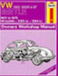 Volkswagen Beetles owners workshop manual - John Harold Haynes, K. F. Kinchin (ISBN 9780856966453)