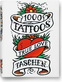 1000 Tattoos - Burkhard Riemschneider (ISBN 9783836549929)