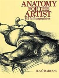 Anatomy for the artist - Jenö Barcsay (ISBN 9780706402438)