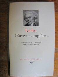 Choderlos De Laclos, oeuvres complètes - C. De Laclos