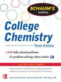 Schaum's Outline of College Chemistry - Lawrence; Krieger, Peter Jerome; Epstein Rosenberg (ISBN 9780071810821)