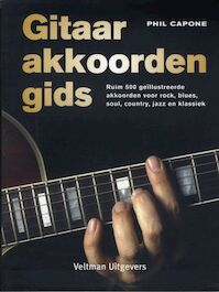 Gitaarakkoordengids - Phil Capone (ISBN 9789059205826)