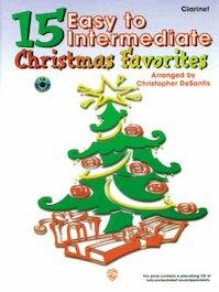 15 very easy Chrismas favorites - Clarinet [CD] - Christopher Desantis (ISBN 9780769209418)
