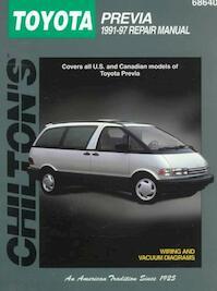 Chilton's Toyota Previa 1991-97 Repair Manual - (ISBN 9780801990915)